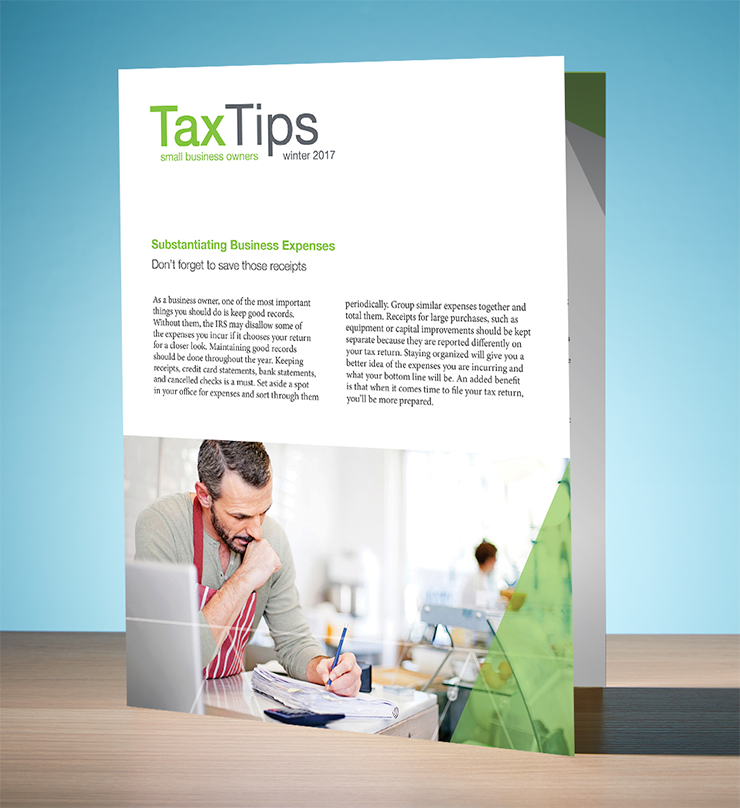 Tax Tips – Business – Single Fold - (Winter 2017/2018) - #TTSB3730